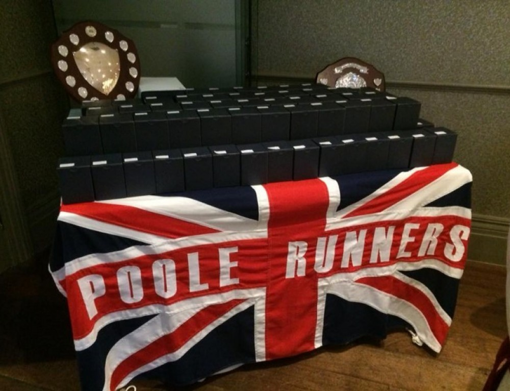 Poole Runners Club Championships Awards 2017