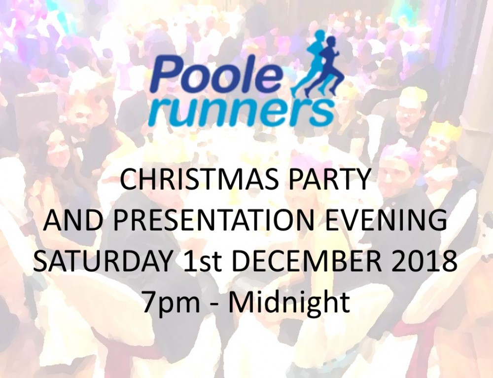 Poole Runners Christmas Party and Presentation Evening