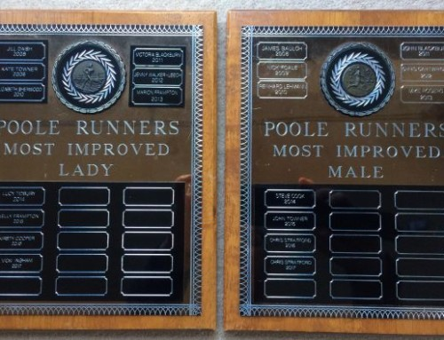 Poole Runners Most Improved Runner 2019 Awards