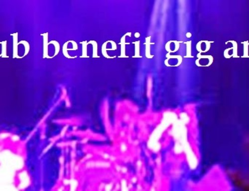 Club benefit gig and disco
