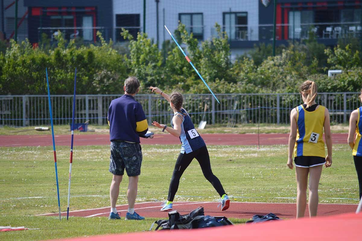 Javelin - Junior Athletic Club - Poole Runners