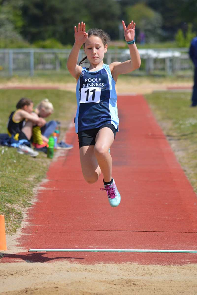 Long Jump - Junior Athletic Club - Poole Runners