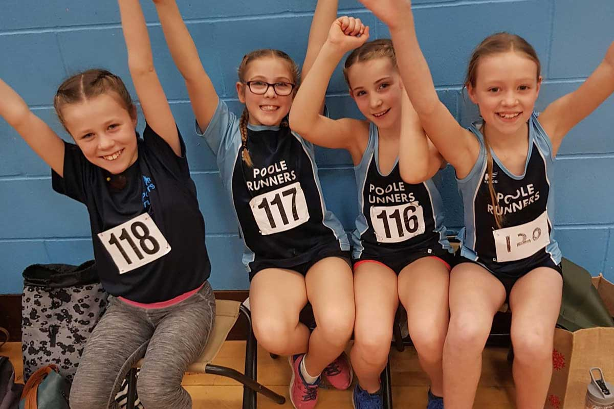 Team Sportshall - QuadKids Athletics Club - Poole Runners