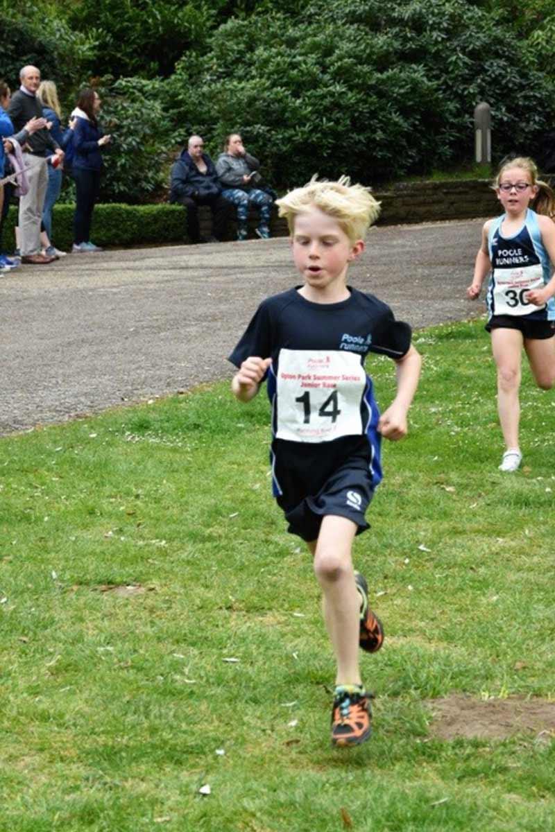 Junior Upton Summer Series - Poole Runners