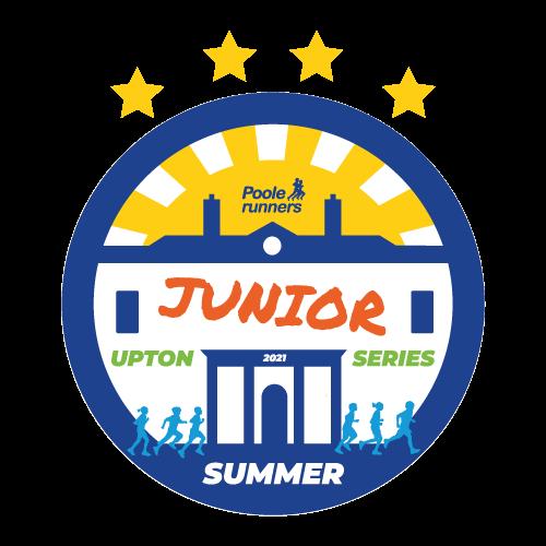 Upton Junior Summer Series Logo - Poole Runners